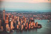 istock New York City's Skyline at Twilight hour 600382012