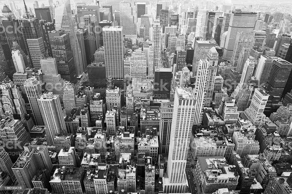new york: cityscape stock photo
