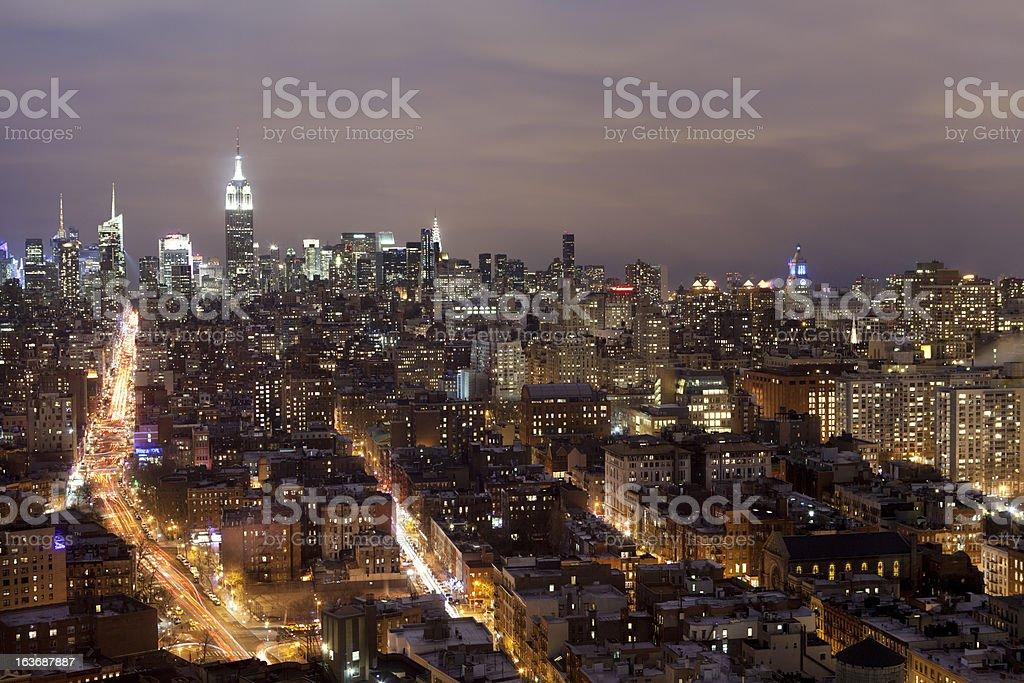 New York Cityscape royalty-free stock photo