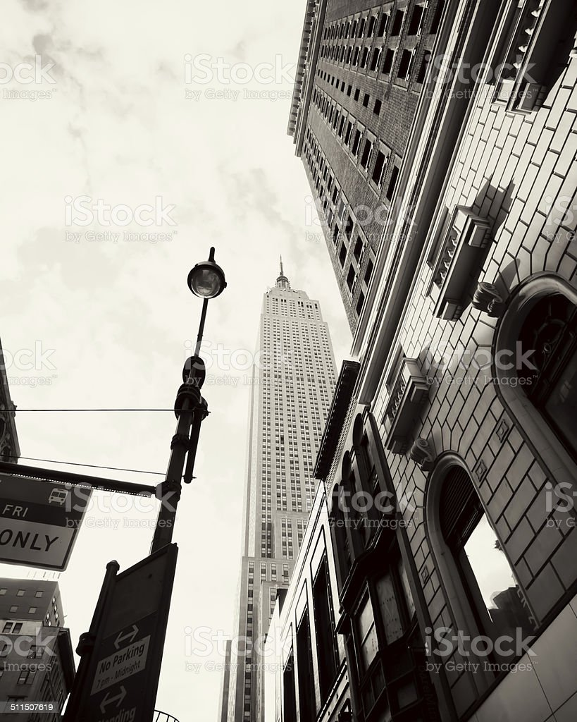 New York cityscape stock photo