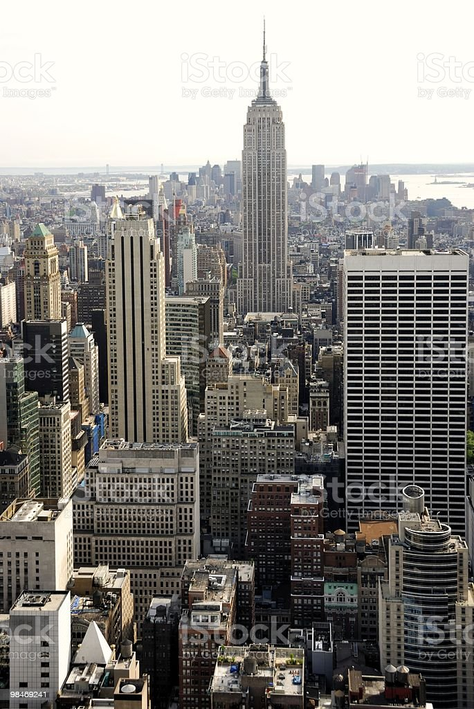 New York Cityscape royalty-free stock photo