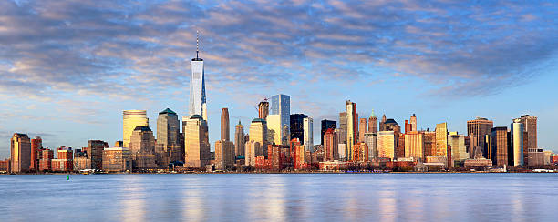 New York cityscape, USA New York cityscape, USA lower manhattan stock pictures, royalty-free photos & images