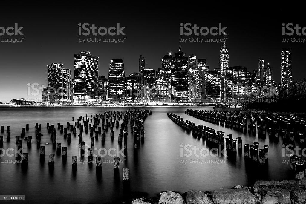 ニューヨークの街並みを一望でき、米国 ストックフォト