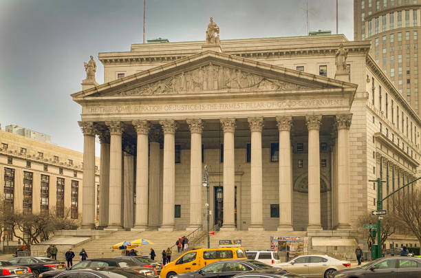 New York County Courthouse, NYC – Foto