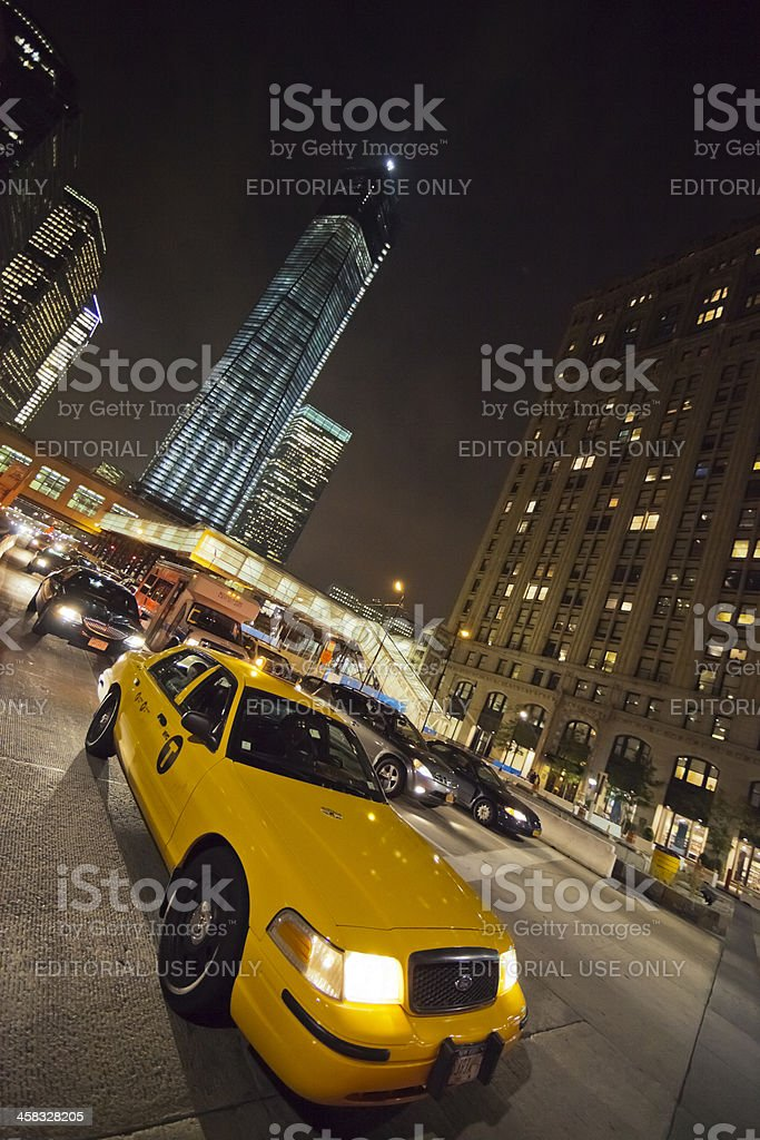 New York, Freedom Tower under construction royalty-free stock photo