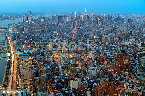 istock New York from above at dusk 1094396258