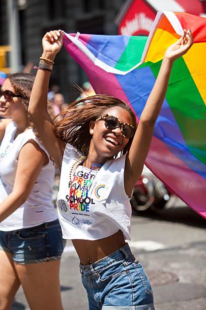 New York Gay Pride März – Foto