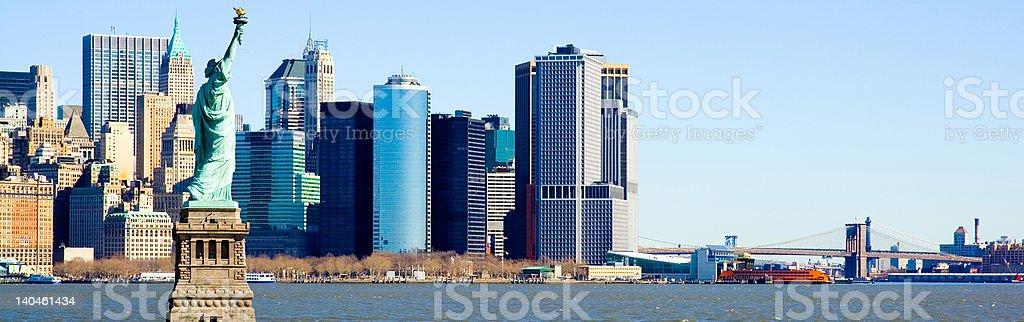 New York Harbor royalty-free stock photo