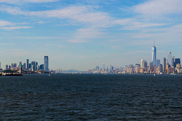 New York Harbor stock photo