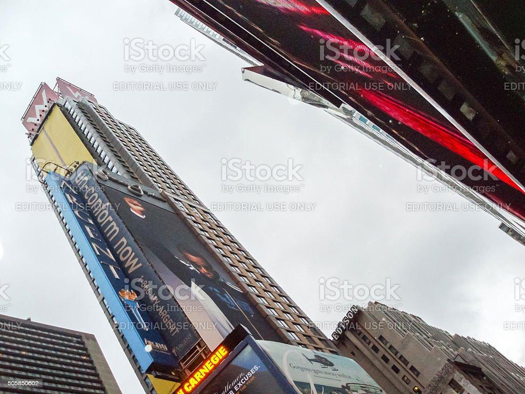 W New York Hotel stock photo