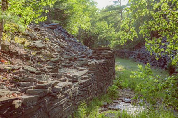 New York - Hudson Valley - Opus 40 stock photo