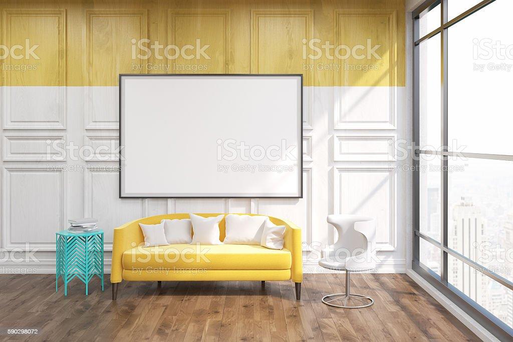 New York living room Стоковые фото Стоковая фотография