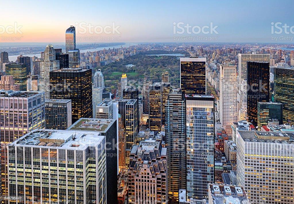 New York - Manhattan, Central park, USA stock photo