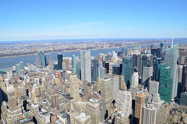 New York - Manhattan Skyline stock photo