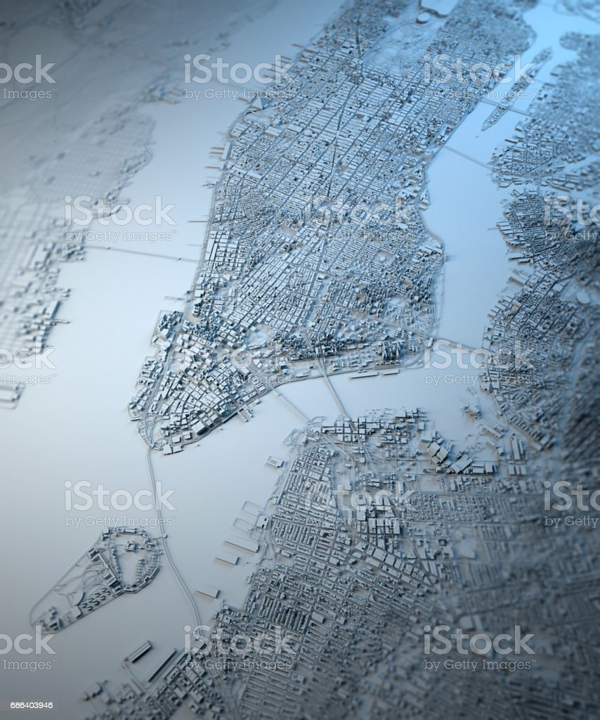 United States Map Satellite.New York Map Satellite View United States Houses Neighborhoods Stock
