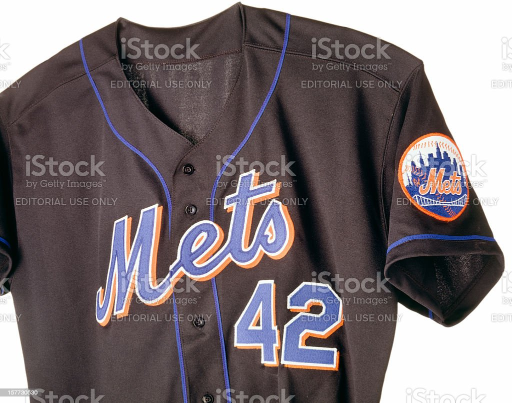 New York Mets baseball shirt stock photo