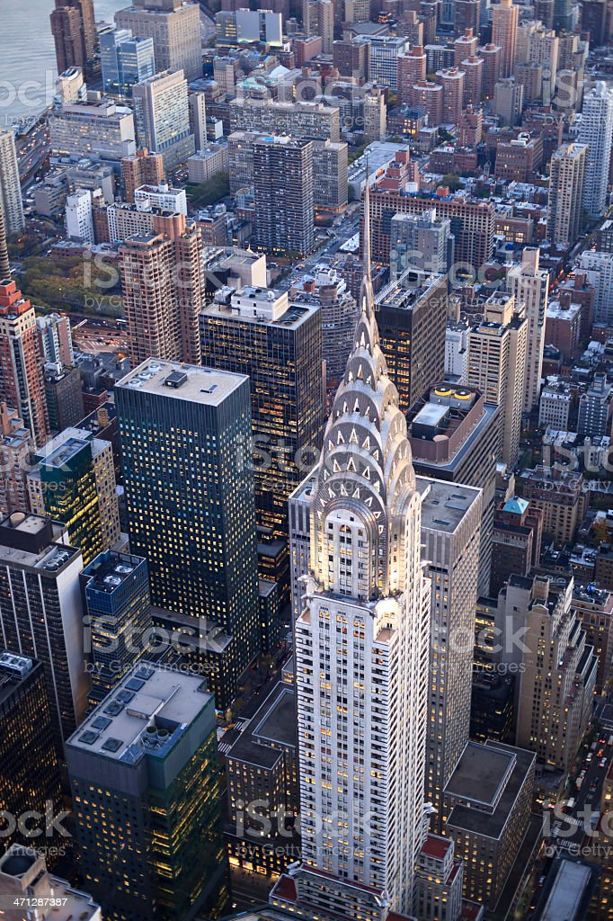New York - mid-town royalty-free stock photo