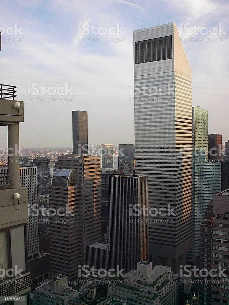 New York Midtown Skyline stock photo
