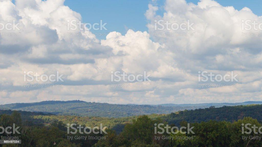 New York Mountain Landscape stock photo