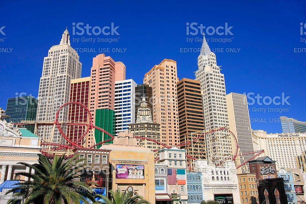 New York - New York hotel and casino, Las Vegas royalty-free stock photo