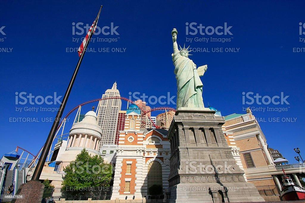 New York - New York hotel and casino royalty-free stock photo