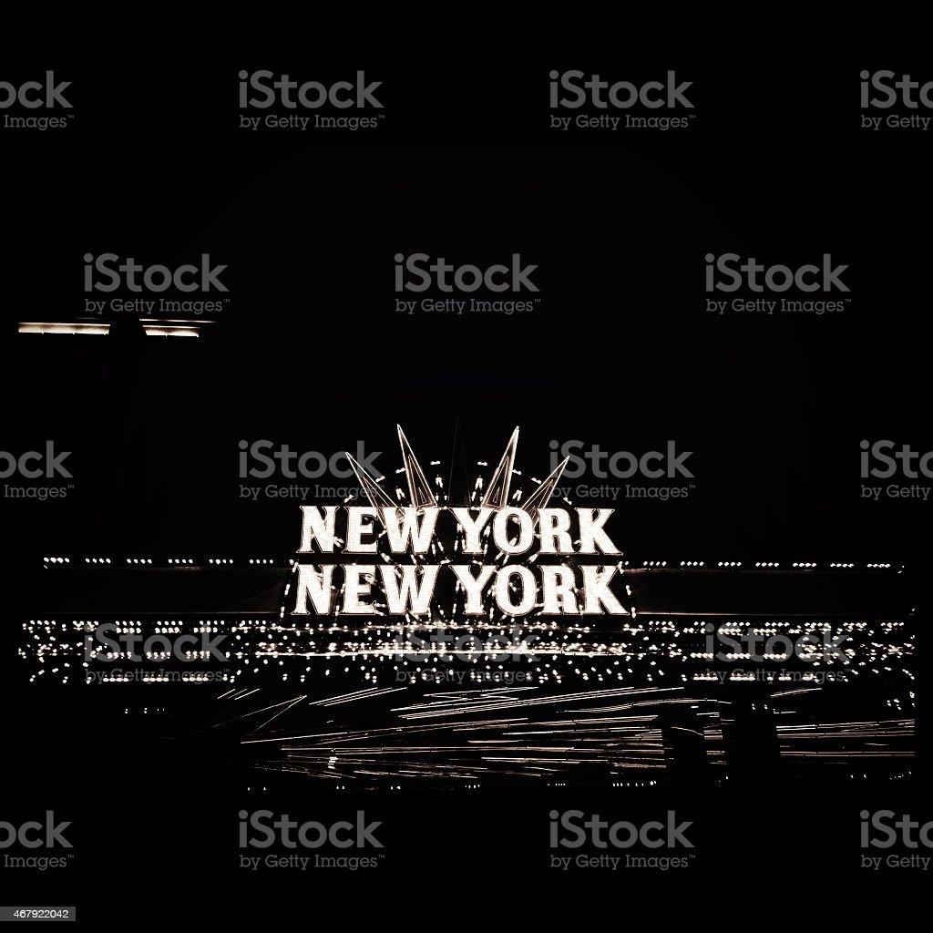 New york New York Neon Sign stock photo