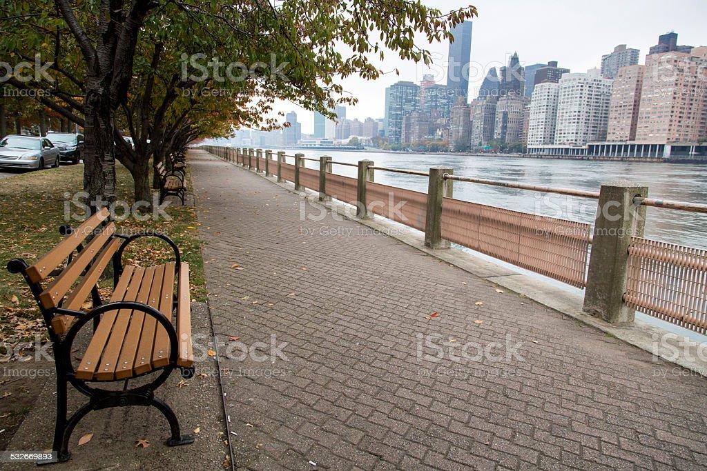 USA - New York - New York, Roosevelt Island stock photo