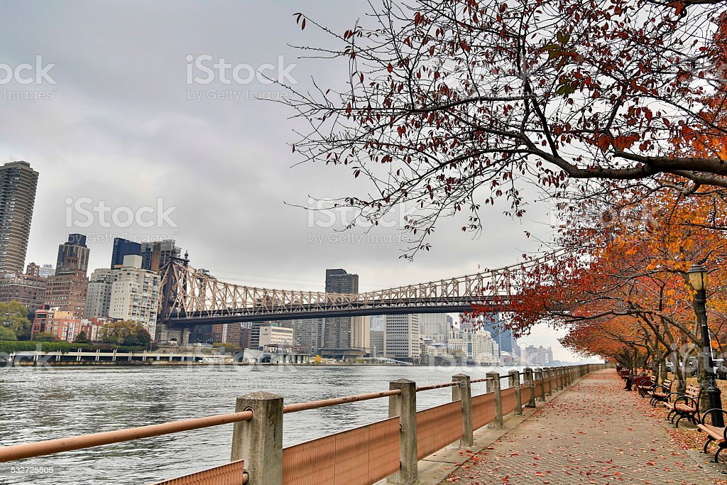 USA - New York - New York, Roosevelt Island stock photo