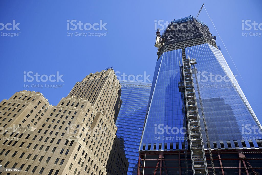 New York - One World Trade Center # 6 XXXL royalty-free stock photo