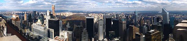 New York Panaroma stock photo
