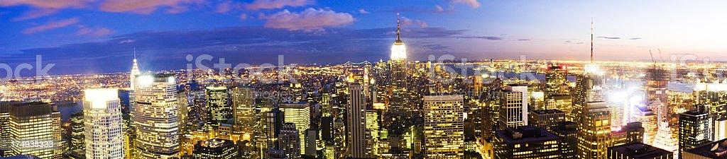 New York Panorama royalty-free stock photo