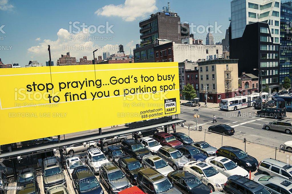 New York Parkplatzengpässe – Foto
