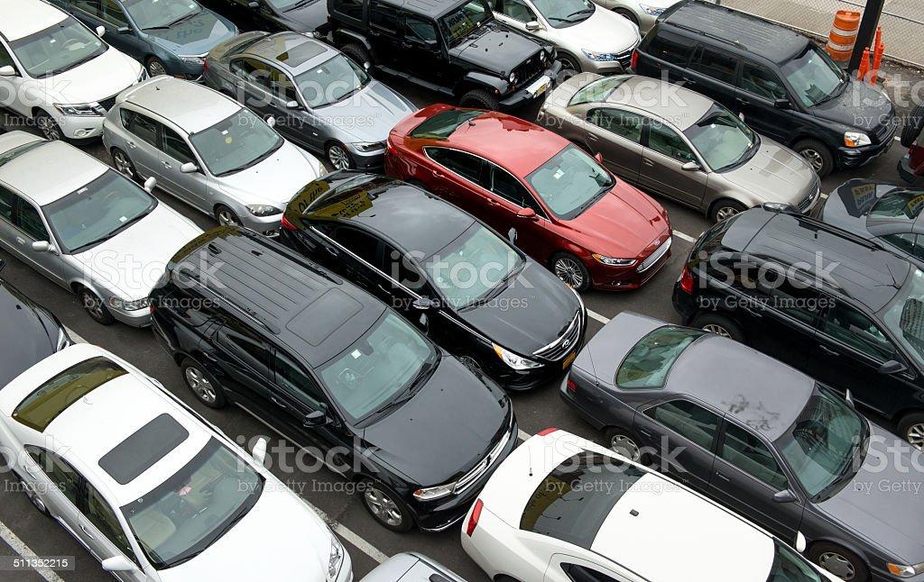 New York Parking Problems stock photo