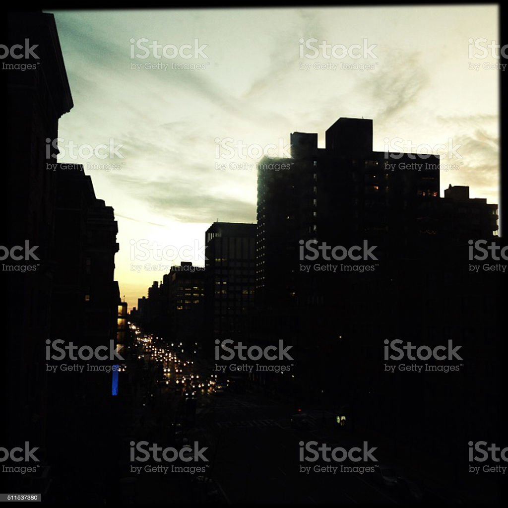 New York Power Outage stock photo