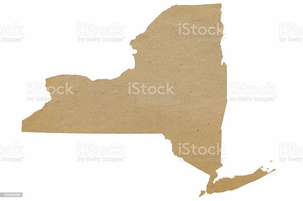 New York Recycles stock photo