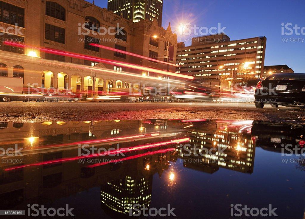New York Reflections royalty-free stock photo