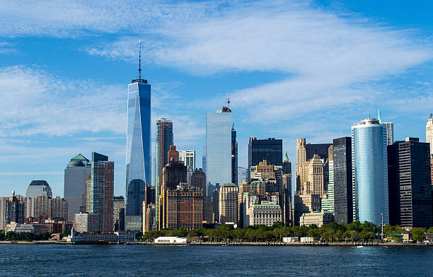 New York Skyline 1 stock photo