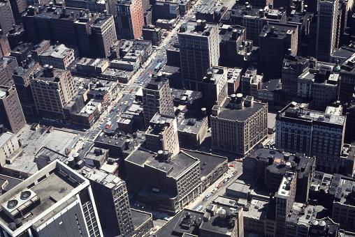 New York Skyline 1969 / Film Scan