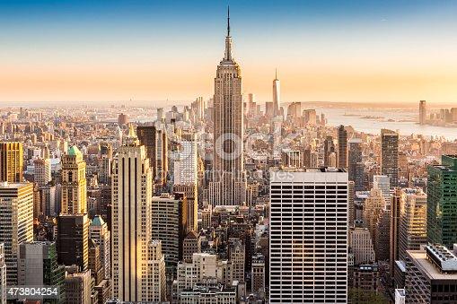 istock New York skyline on a sunny afternoon 473804254