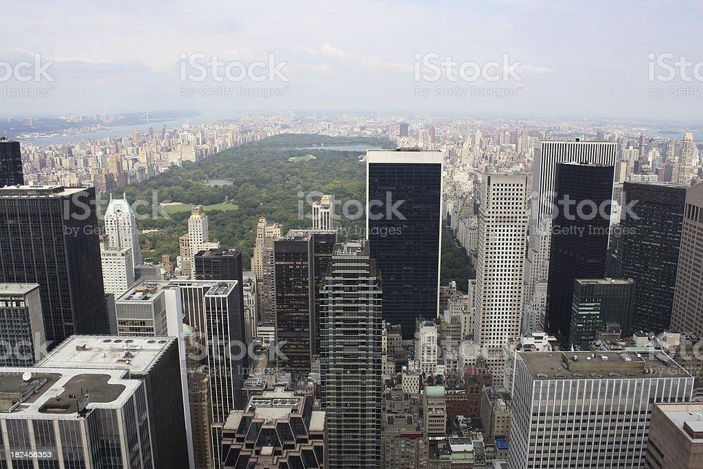Edificios de Nueva York foto de stock libre de derechos
