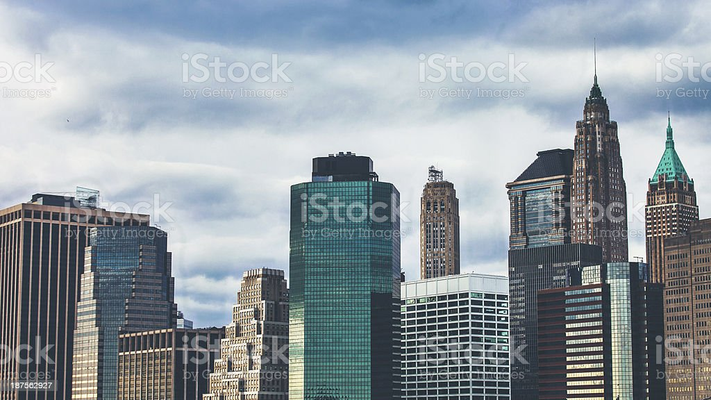 New York skyline. royalty-free stock photo