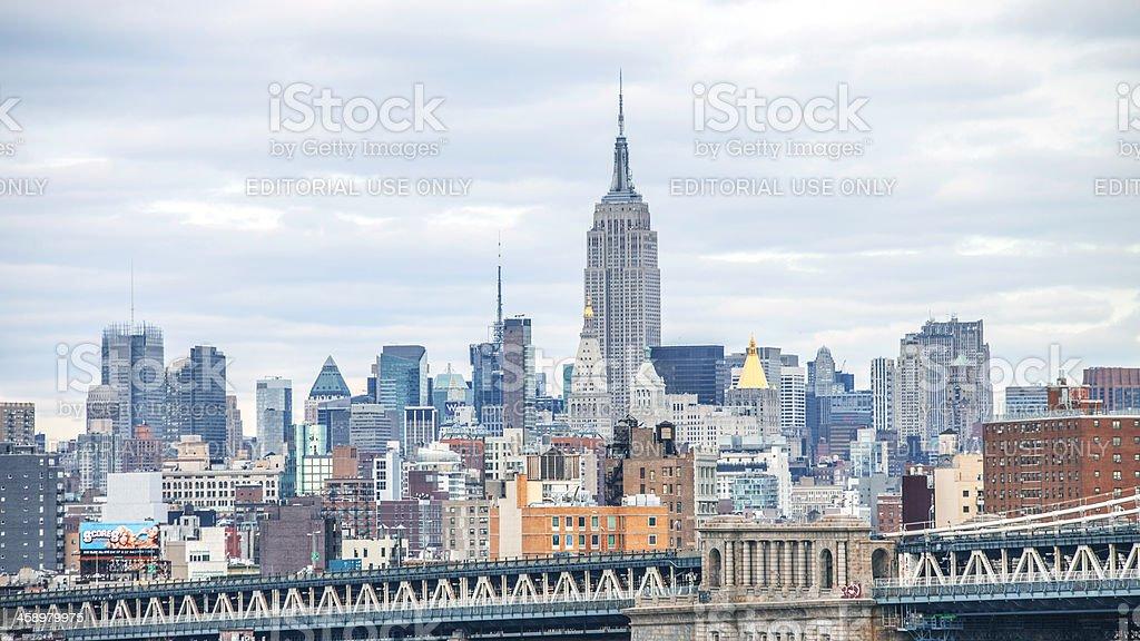 skyline von New York. – Foto