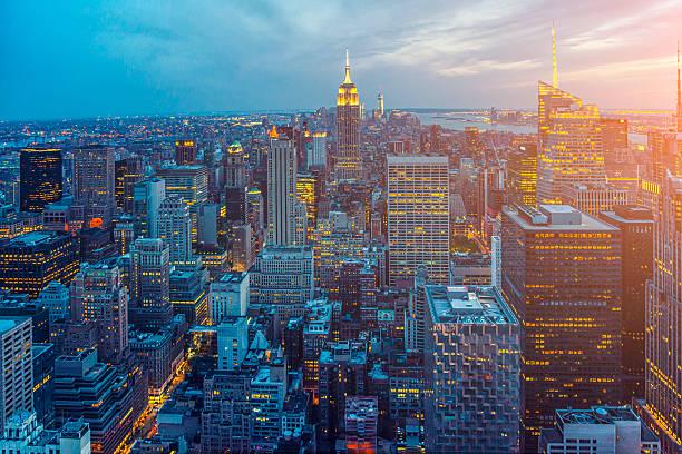 Horizonte de Nova York - foto de acervo