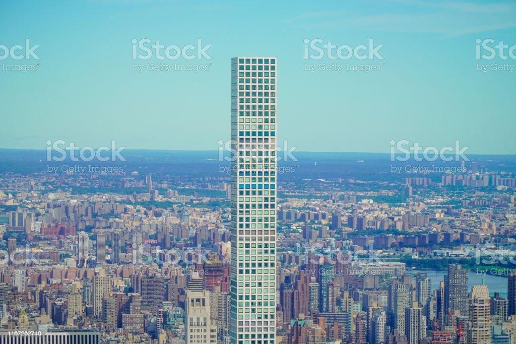 ニューヨーク超高層ビル マンハッタンの432パークアベニュー ...