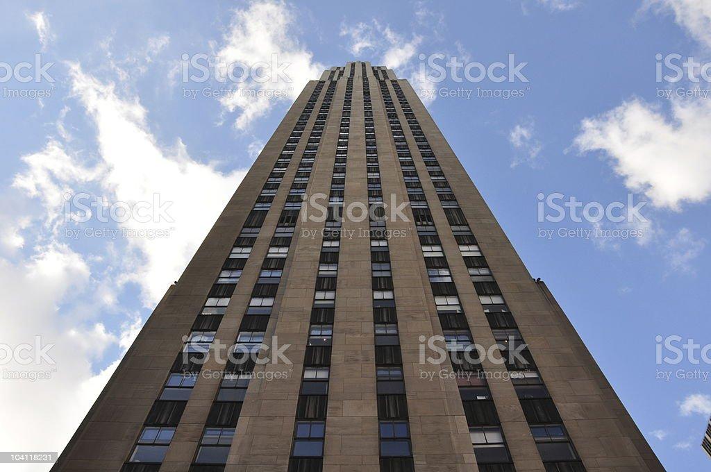New york skyscraper stock photo