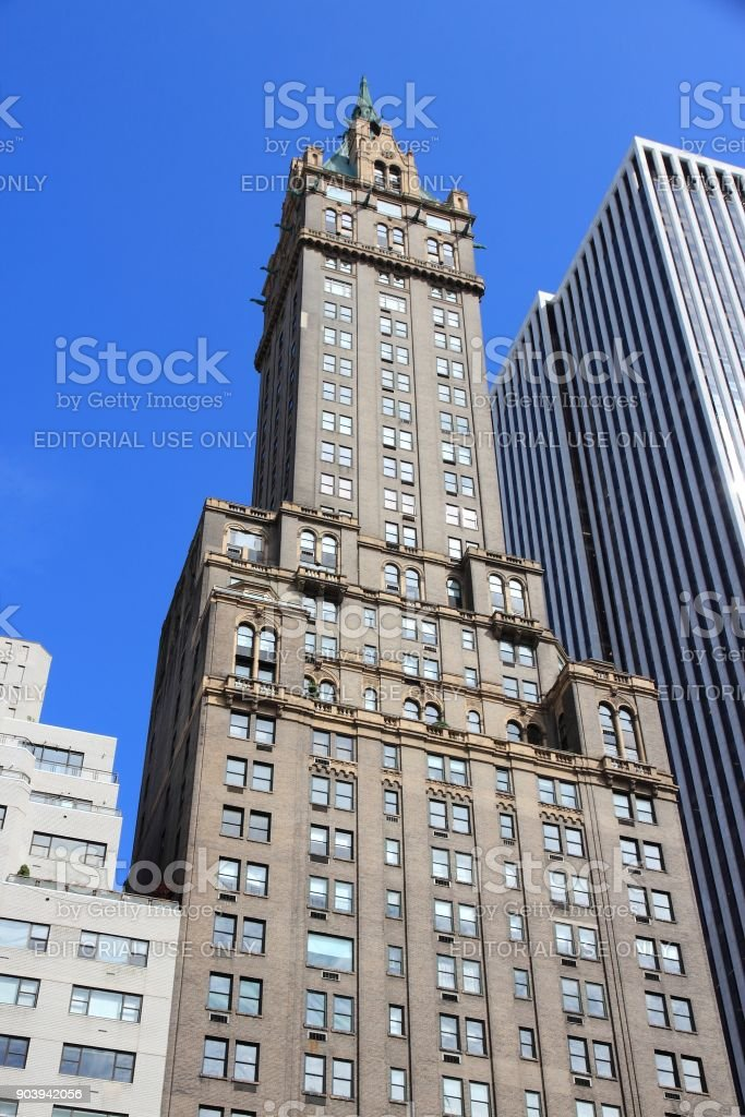 New York skyscraper stock photo