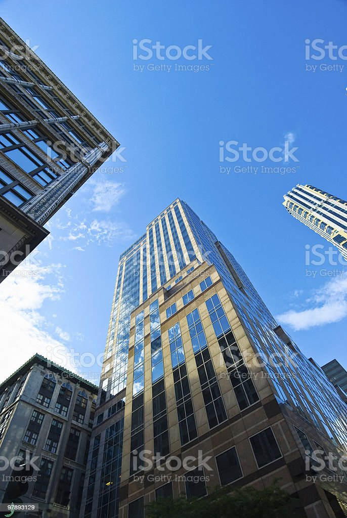 New York Skyscrapers royalty-free stock photo