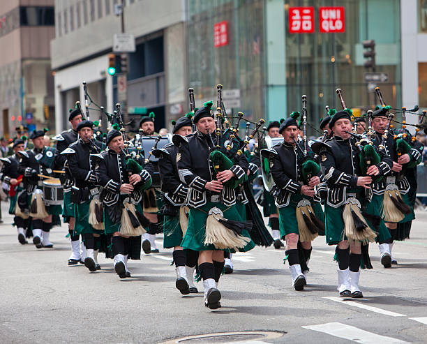 New York St Patrick's Day Parade – Foto
