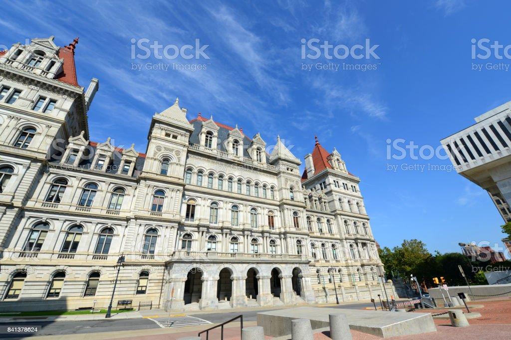 New York State Capitol, Albany, NY, USA stock photo