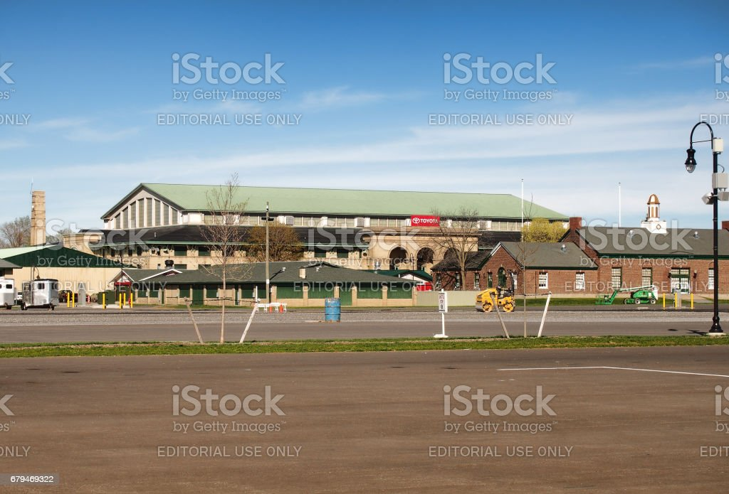 New York State Fairgrounds royalty-free stock photo